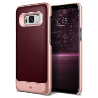 Чехол Caseology Fairmont для Galaxy S8 Plus Cherry Oak