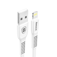 Кабель Baseus Tough USB - Lightning 2A 1м Белый