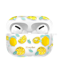 Чехол Kingxbar Fresh для Apple Airpods Pro Lemon